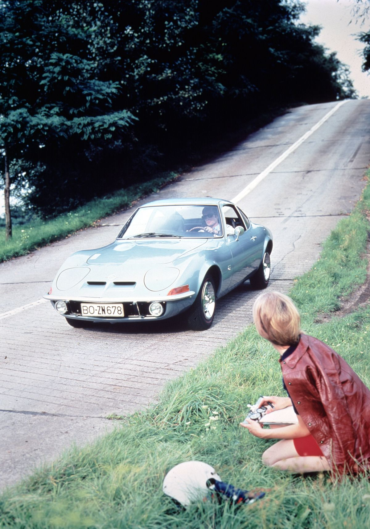 Real eyecatcher: The Opel GT was a true delight when launched in 1968 ai??i?? and is still admired today.