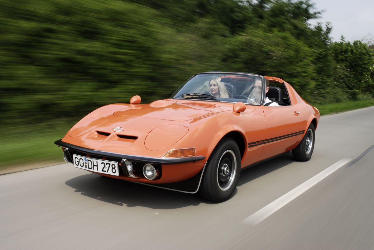 Only a dream: Opel presented the Aero GT concept car at the 1969 Frankfurt Motor Show ai??i?? unfortunately, it was never made in series.