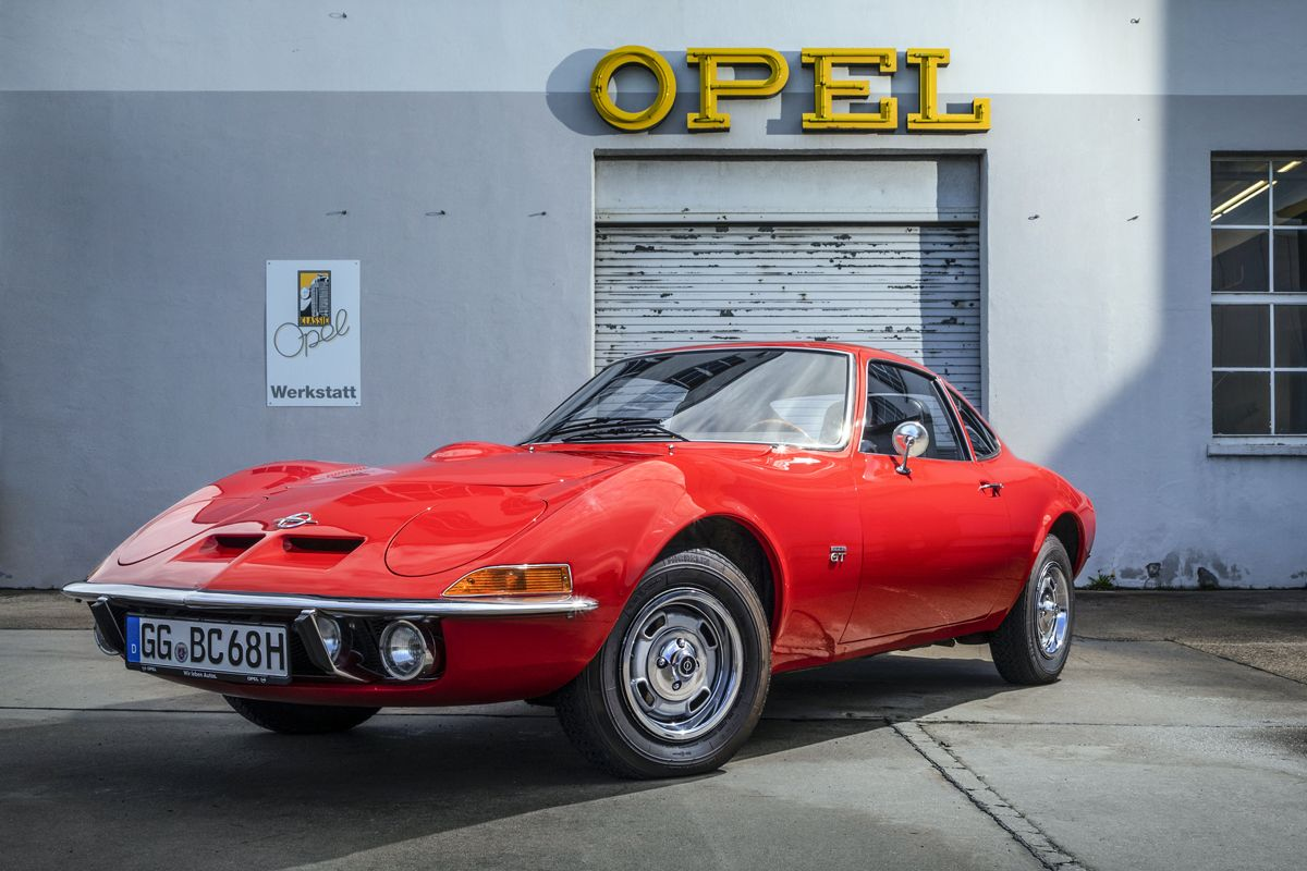 Dream car: Even 50 years after its introduction the slogan ai???Only flying is betterai??i??ai??? still applies to the Opel GT.