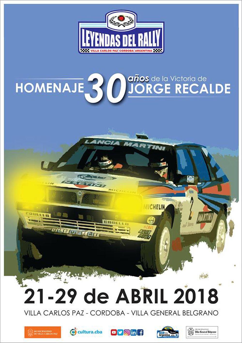 Poster Leyendas del Rally 2018