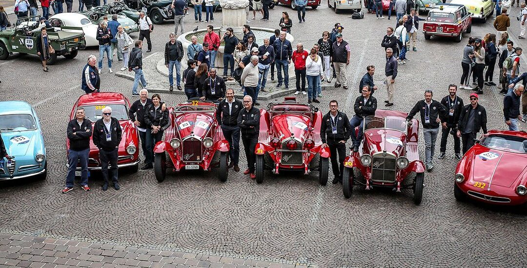 Mille Miglia 2018: los Alfa y la primera etapa