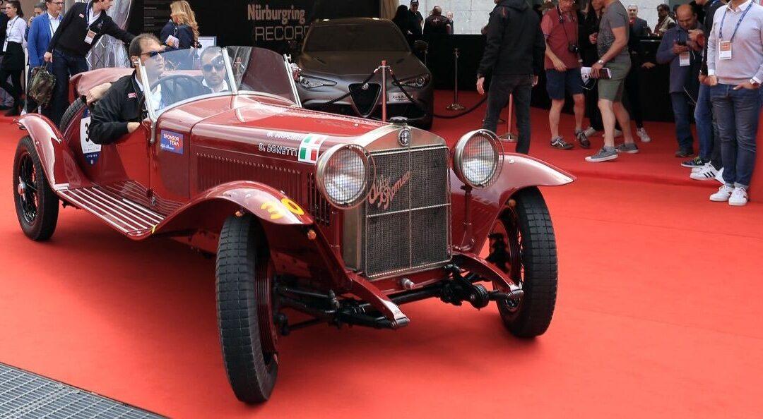 Mille Miglia 2018: Alfa Romeo y la «punzonatura»