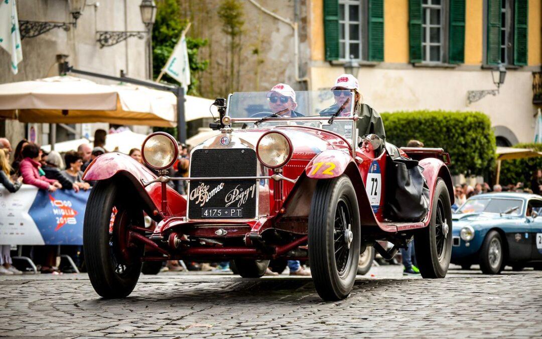 Mille Miglia 2018: la segunda etapa