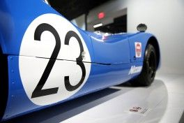 1969 Nissan R382. Nissan supports two exhibits on Japanese manufacturing and car culture at the Petersen Automotive Museum