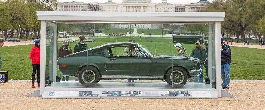 Mustang Bullitt, de las calles de San Francisco al National Mall