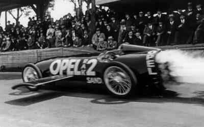 90 años de la era de los cohetes Opel