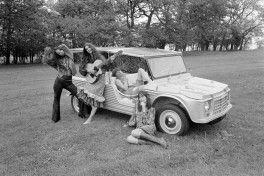 Presentazione Mehari Deauville 16 maggio 1968 foto 9