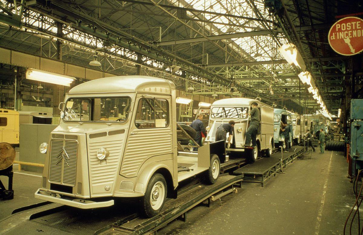 Dernière production H à Javel en 1974 - CL_74_14_15 - copyright GUYOT -