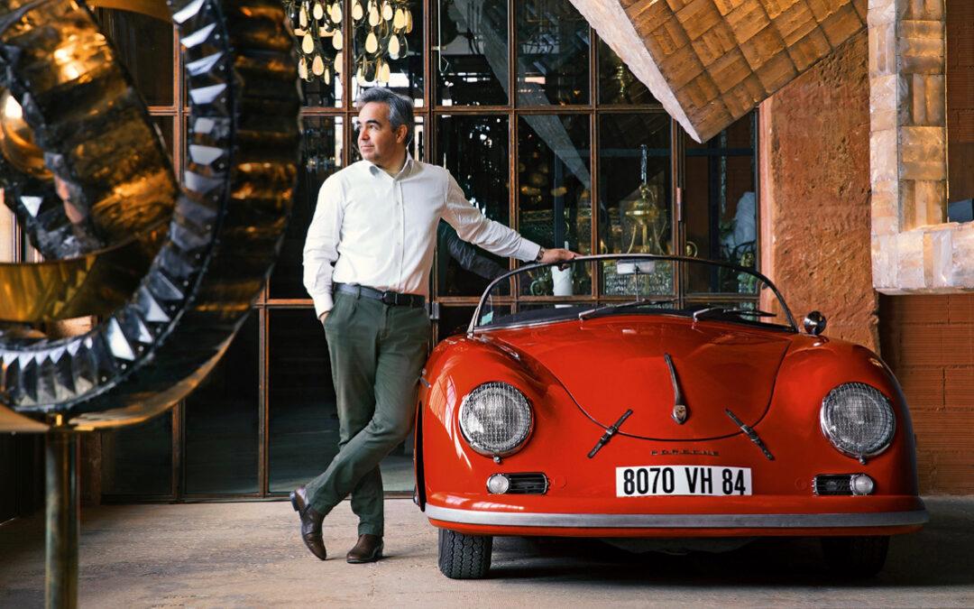 La fascinación por los Porsche de Régis Mathieu