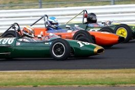 Silverstone Classic  20-22 July 2018 At the Home of British Motorsport 196 Timothy De Silva, Brabham BT2 Free for editorial use only Photo credit – JEP