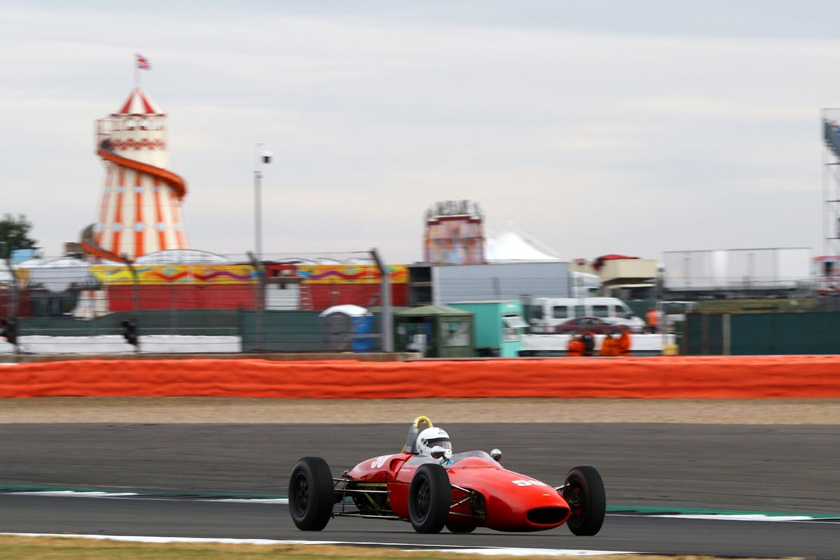 Silverstone Classic 20-22 July 2018 At the Home of British Motorsport 50 Dr David Innes, Lola Mk5A Free for editorial use only Photo credit – JEP