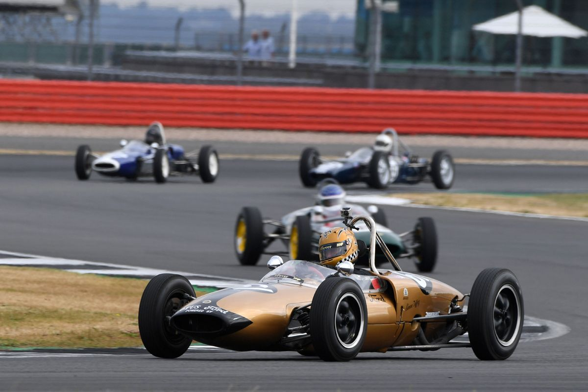 Silverstone Classic 20-22 July 2018 At the Home of British Motorsport 61 Simon Diffey, Lotus 20 Free for editorial use only Photo credit – JEP