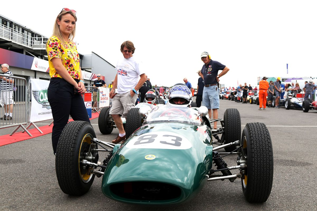 Silverstone Classic 20-22 July 2018 At the Home of British Motorsport 83 Martin Walford, Lotus 22 Free for editorial use only Photo credit – JEP