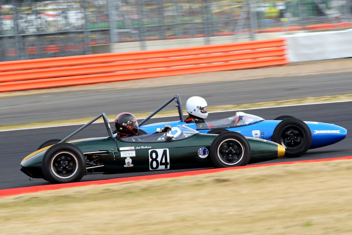 Silverstone Classic 20-22 July 2018 At the Home of British Motorsport 84 Mark Woodhouse, Lotus 20/22 Free for editorial use only Photo credit – JEP