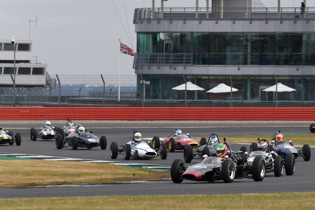 Silverstone Classic 20-22 July 2018 At the Home of British Motorsport 87 Pierre Guichard, Lynx T3 Free for editorial use only Photo credit – JEP