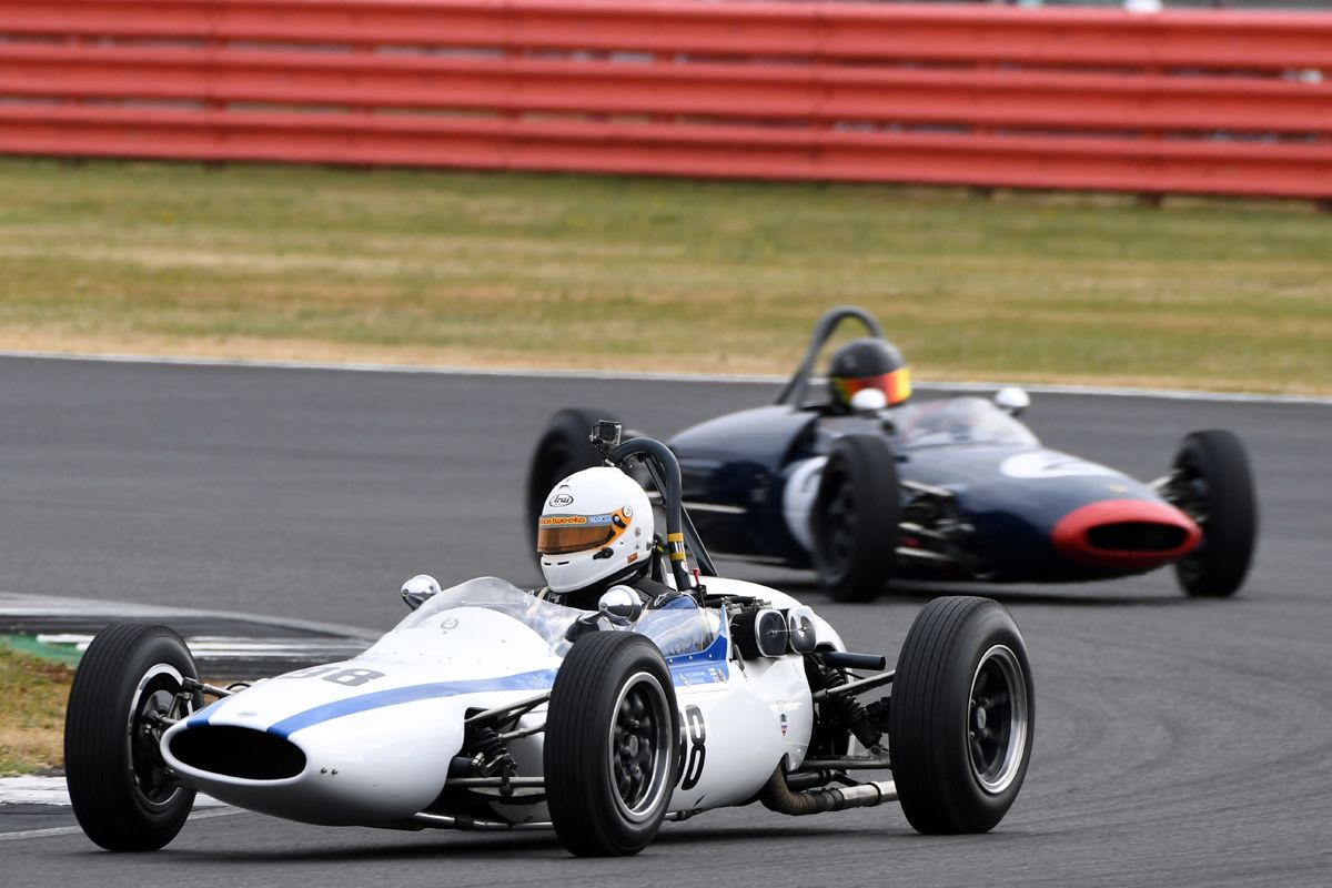 Silverstone Classic 20-22 July 2018 At the Home of British Motorsport 98 Chris Merrick, Cooper T59 Free for editorial use only Photo credit – JEP