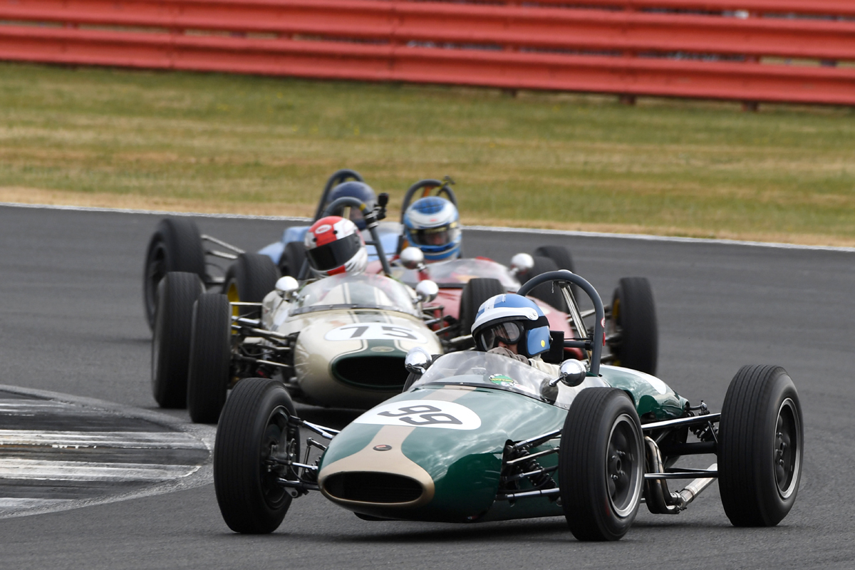 Silverstone Classic 20-22 July 2018 At the Home of British Motorsport 99 Mark Shaw, Brabham BT6 Free for editorial use only Photo credit – JEP