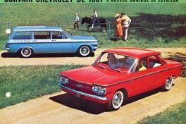 Chevrolet Corvair 1961 en espanol A_Estados Unidos