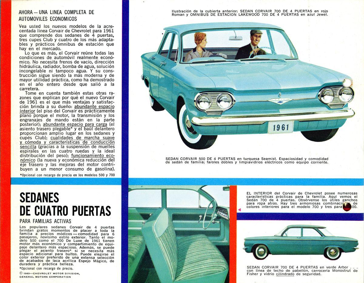 Chevrolet Corvair 1961 en espanol B_Estados Unidos
