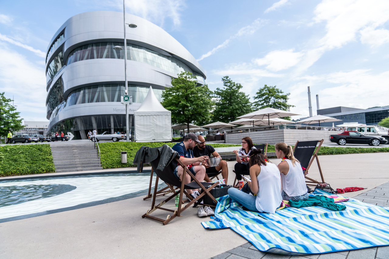 Cars & Coffee am 17.06.2018 / Hügelpicknick