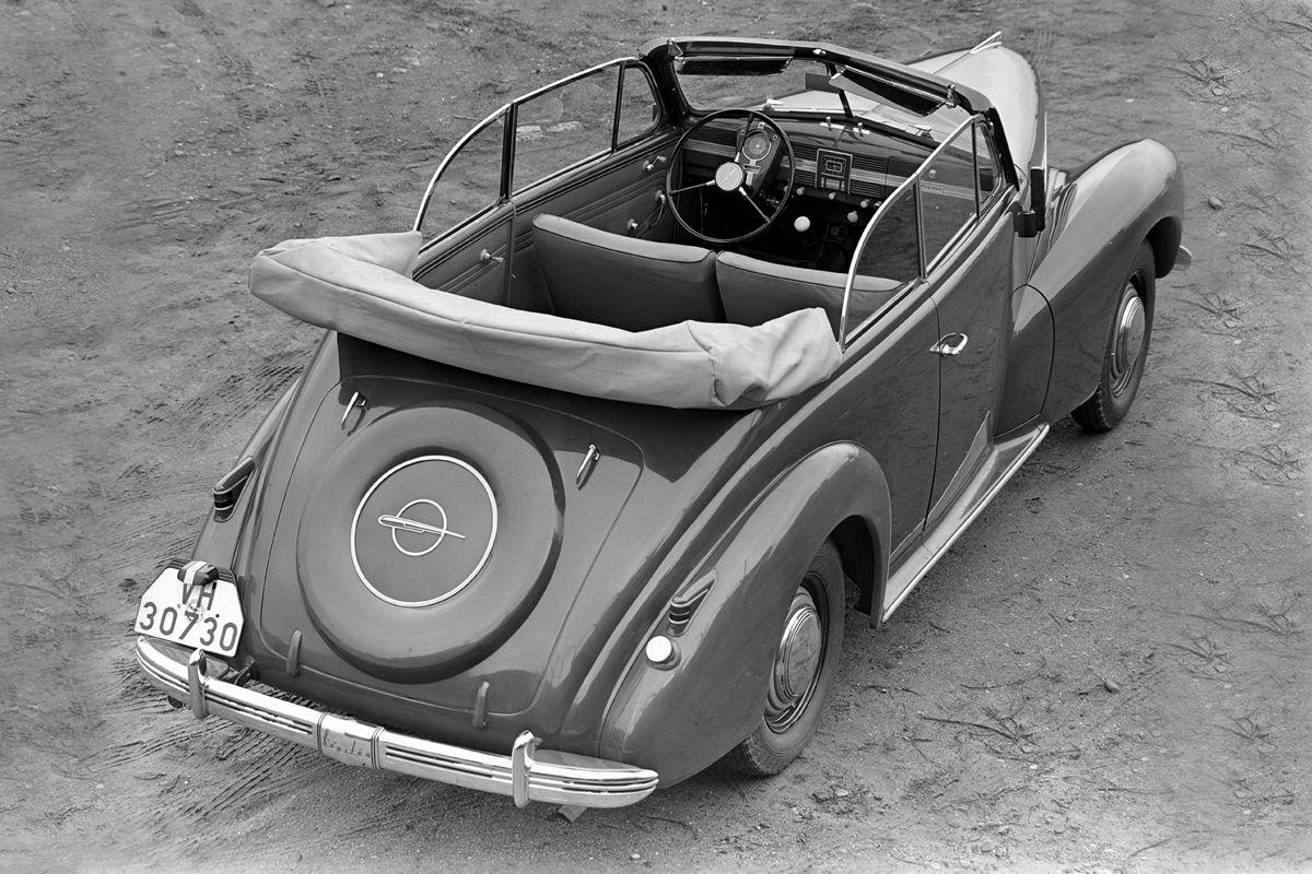 Opel Kapitän Cabrio 1939