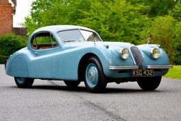 DM Historics Jaguar XK120 slider