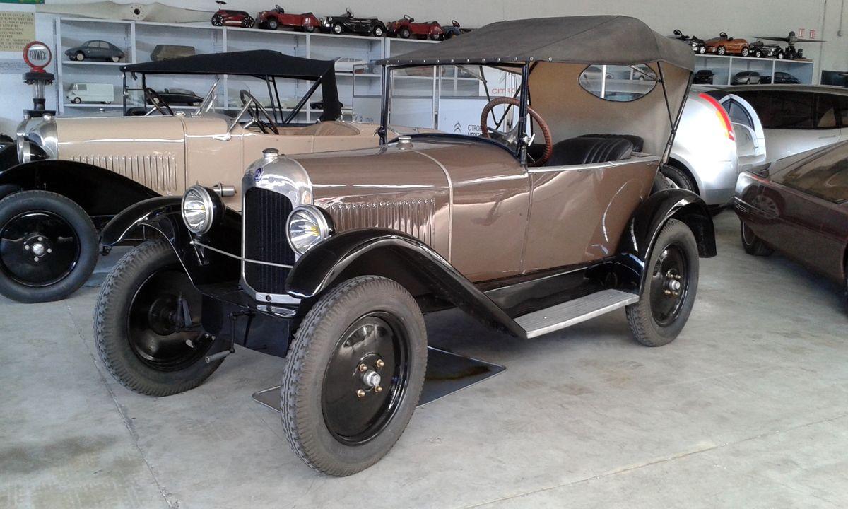 Citroân C3 5 HP Träfle 1924 - 2