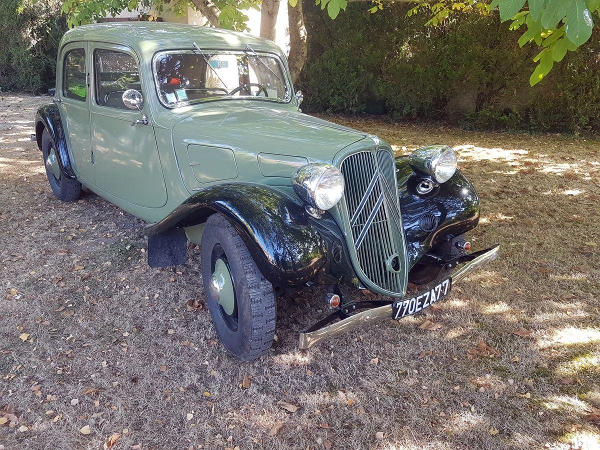 Citroân Traction Avant 7 C 1937 - 1