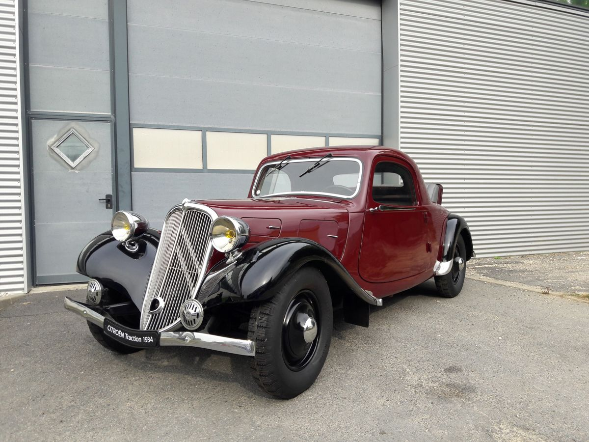 Traction Avant faux cabriolet 1934 - 1