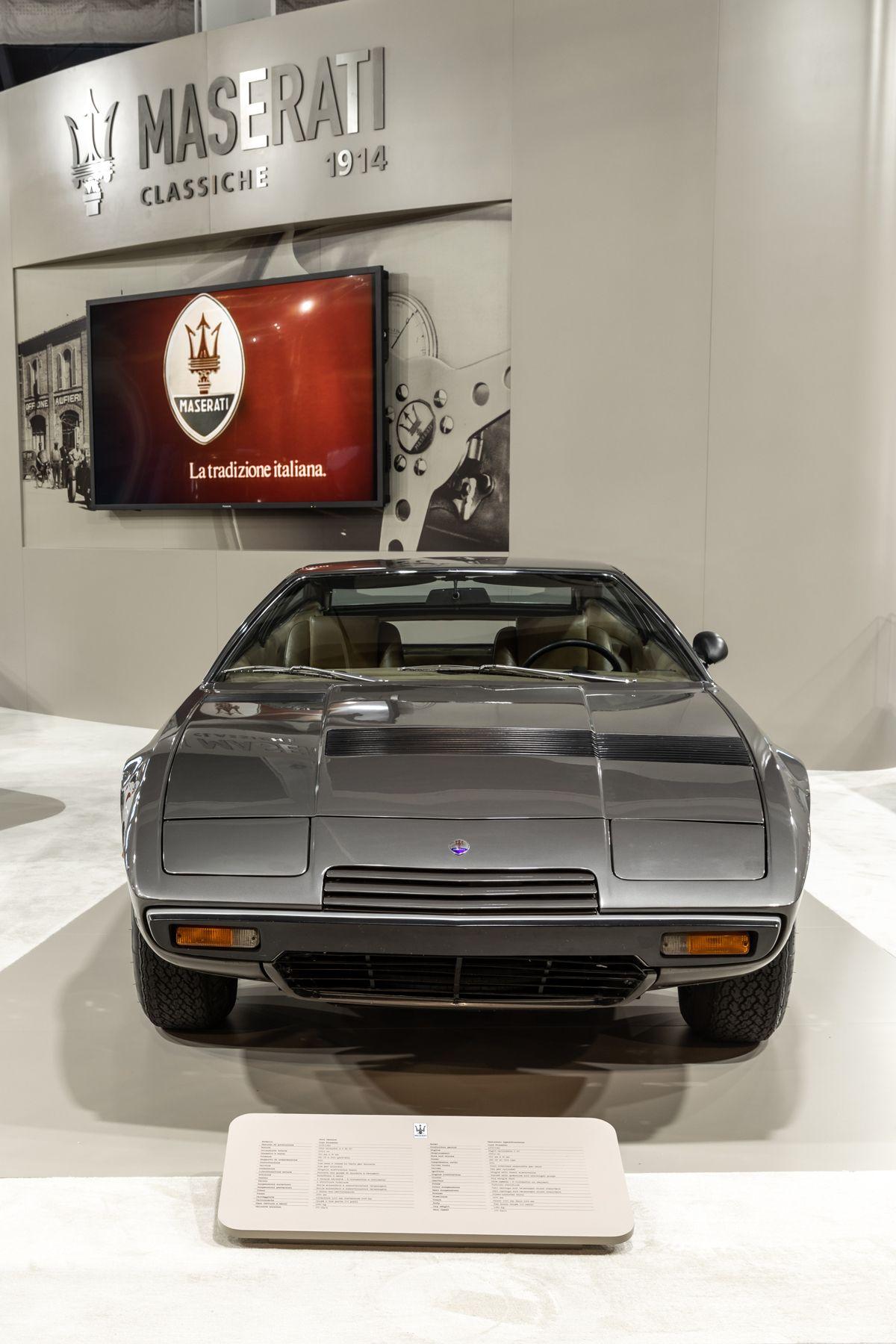 Maserati_Padova_Salone Auto D'Epoca 2018_khamsin_018