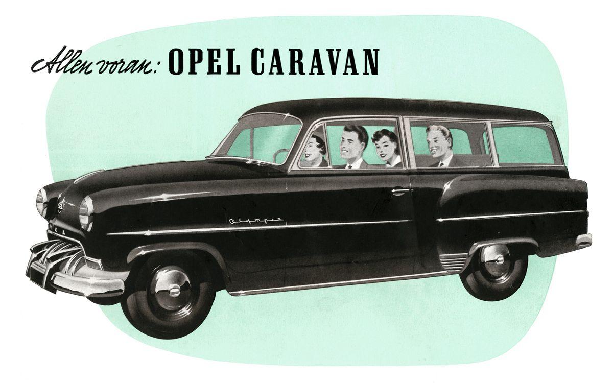 1953 Opel Olympia Rekord Caravan