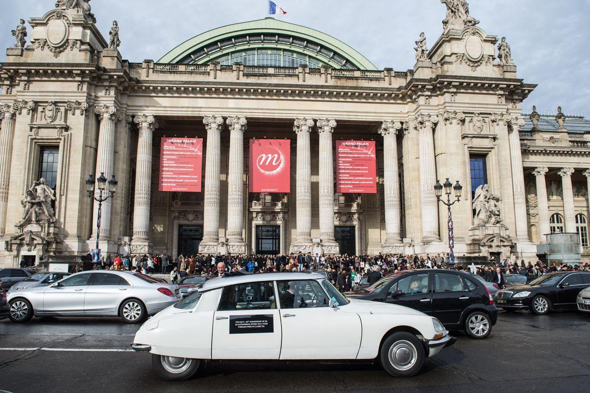 Journée anniversaire de la Citroen DS. Paris, le 6 octobre 2015. Photo © Christophe Guibbaud