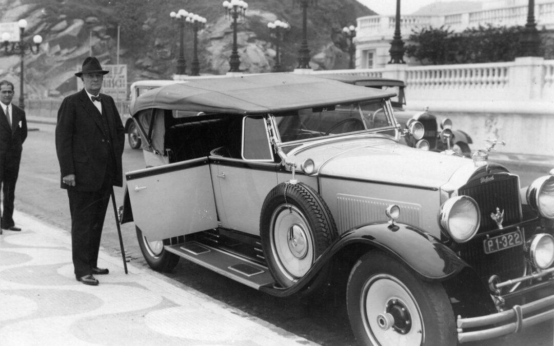 Marcelo T, Copacabana y un Packard