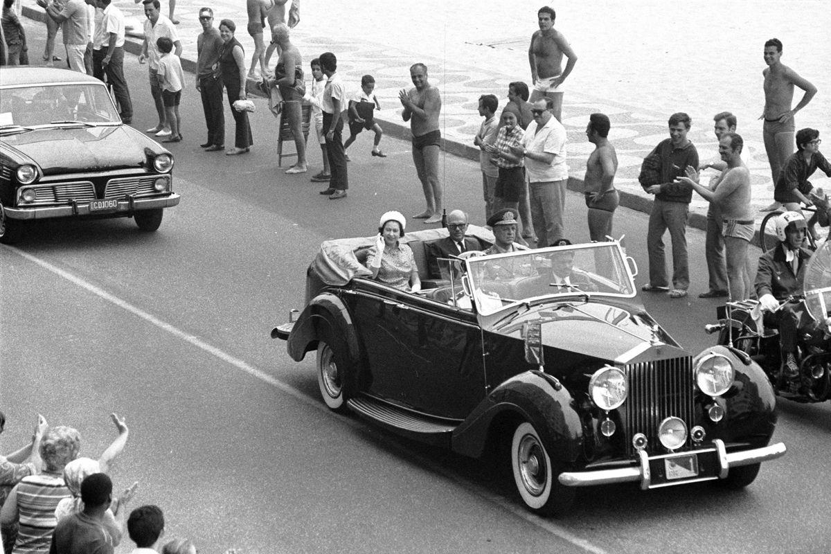 09.11.1968 - ARQUIVO - CA - VISITA DA RAINHA ELIZABETH II AO BRASIL