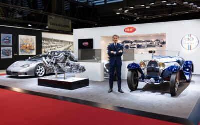 Rétromobile 2019: los 110 años de Bugatti