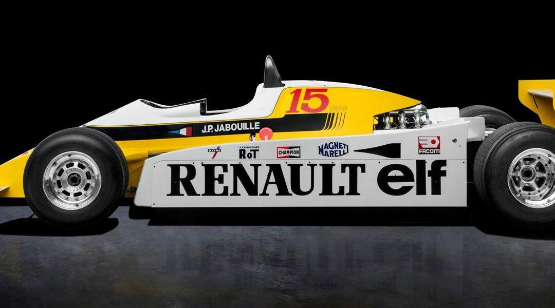 Rétromobile 2019: la saga Turbo de Renault