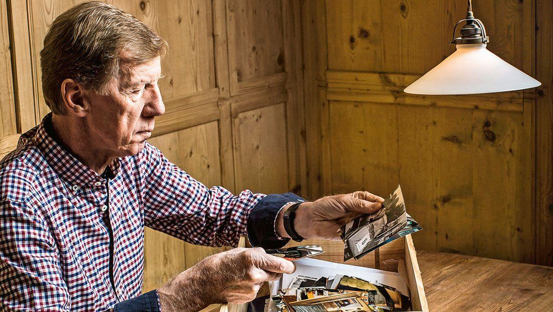 Walter Röhrl,in seinem Haus in St Engelmar, Bayr Wald,für Chri