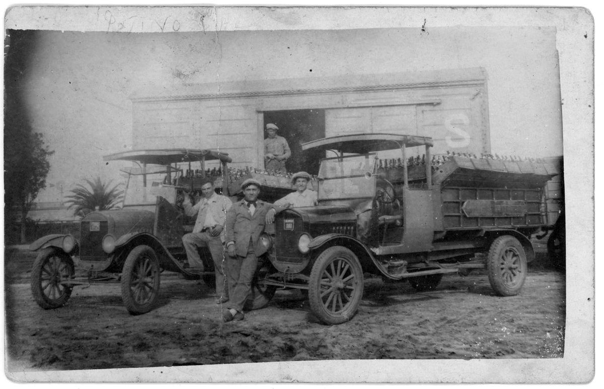 Ford T transportes de bebidas