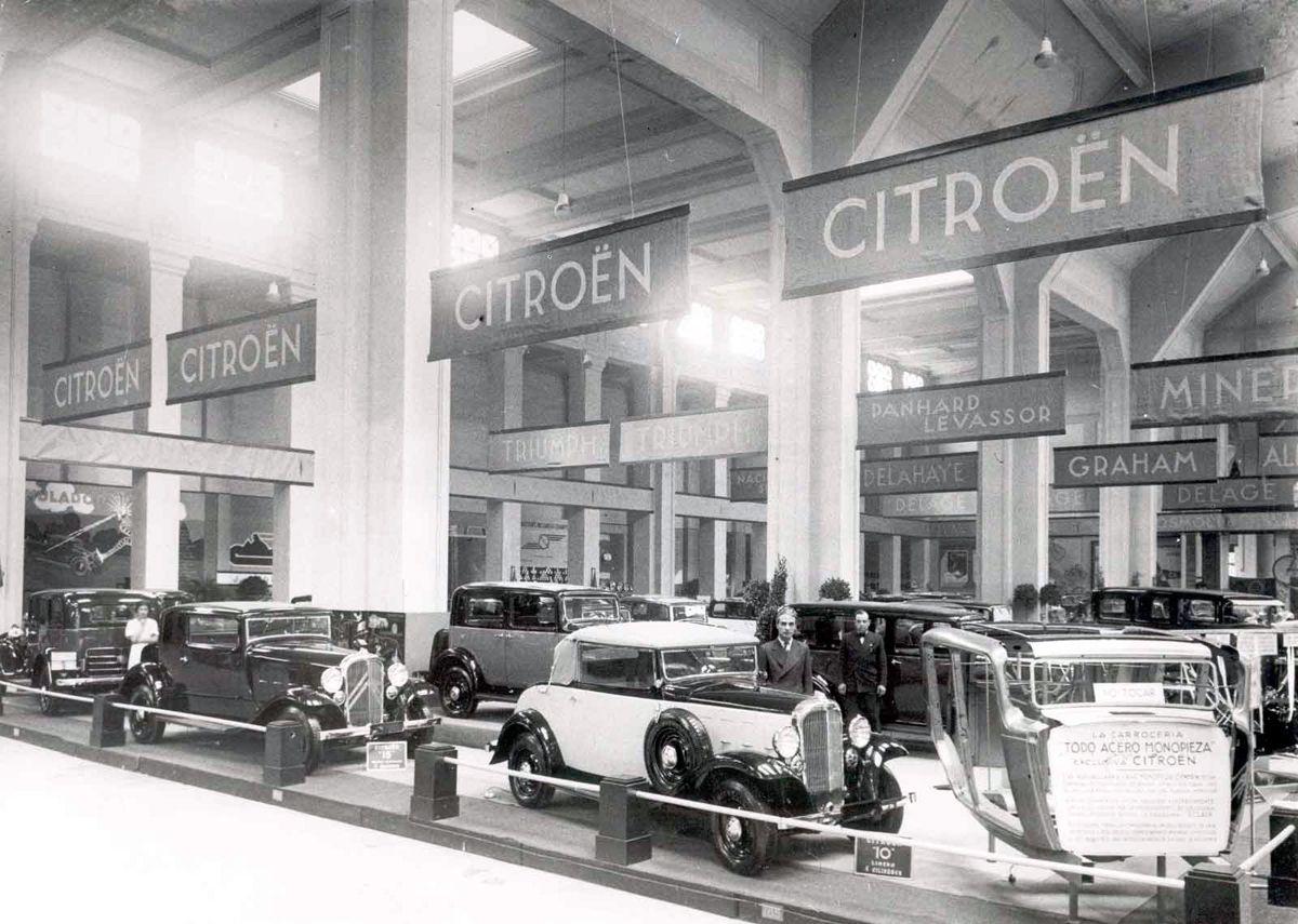 1933_salon_automovil_barcelona_estand_citroen