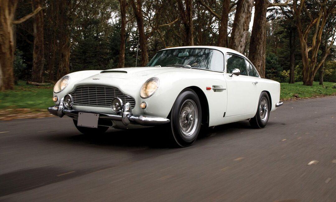 Nueva subasta exclusiva de Aston Martin en Monterey