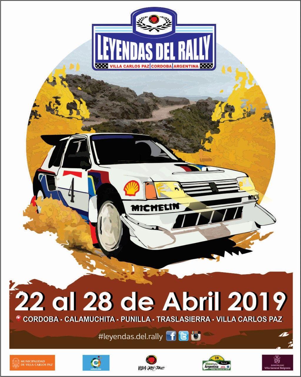 Poster Leyendas del Rally 2019