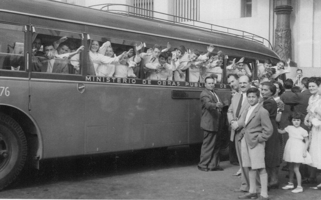 Evita, los niños y el Turismo Social