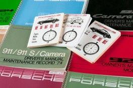 Porsche Classic Broschüren