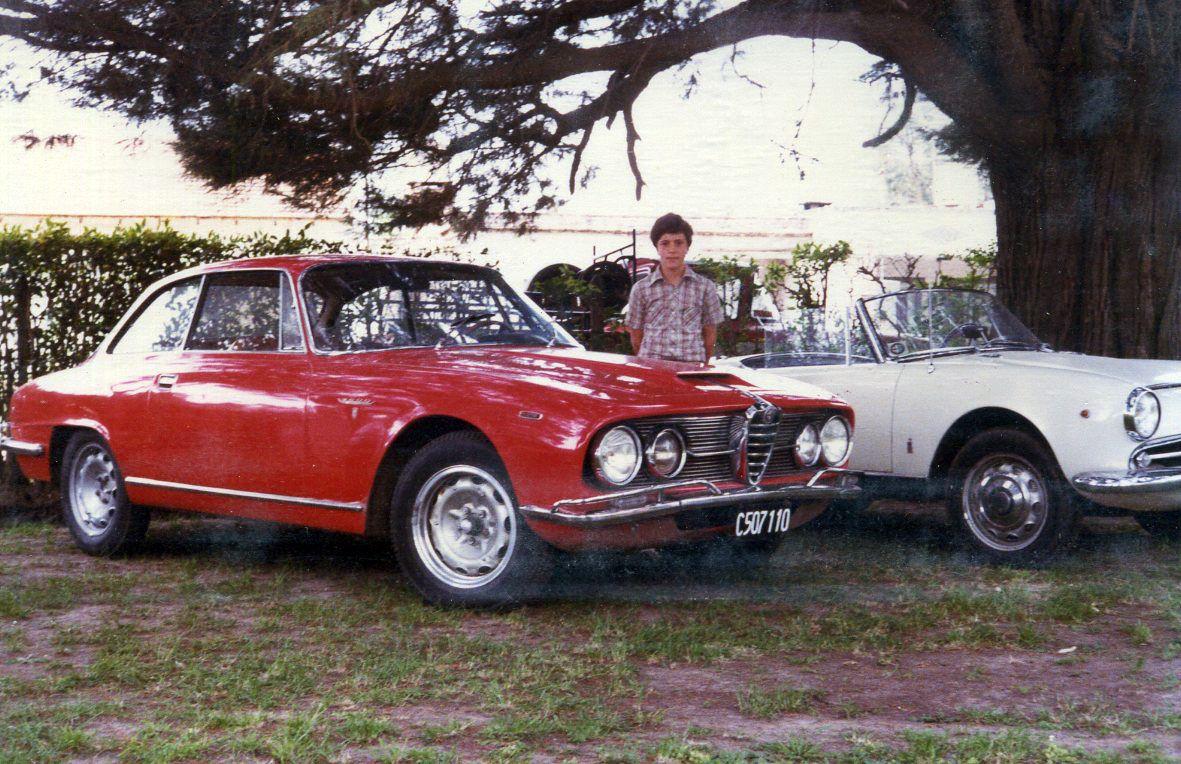 La 2600 en una de las primeras reuniones del Club Alfa