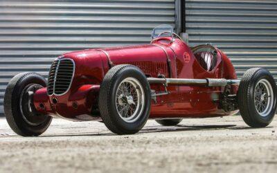 80 años de la victoria de la Maserati 6CM en la Targa Florio