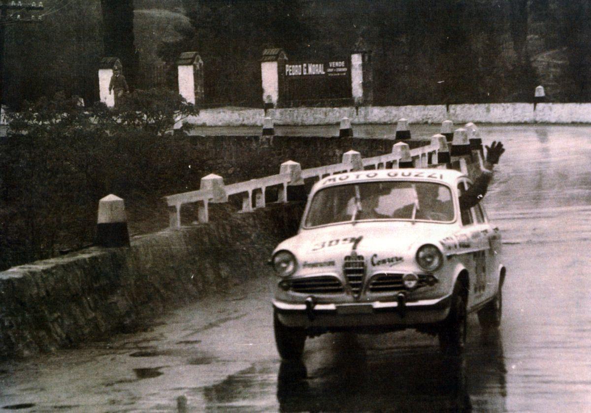 Perkins ganó su clase en el GP de 1960