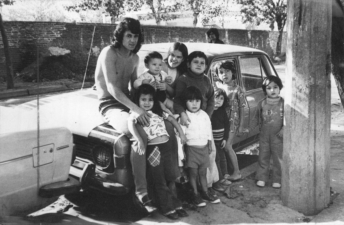 Rene Houseman y Fiat 128 IAVA