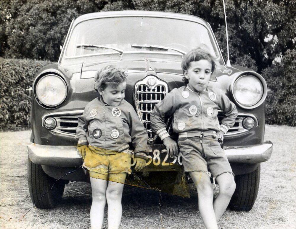 Willy y Lao Iacona, Miramar 1974