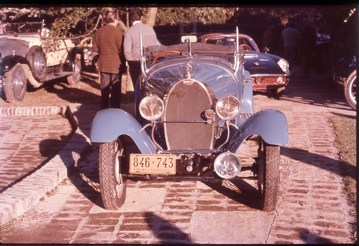 Bugatti Type 40, Maserati Mistral, Rolls_Argentina