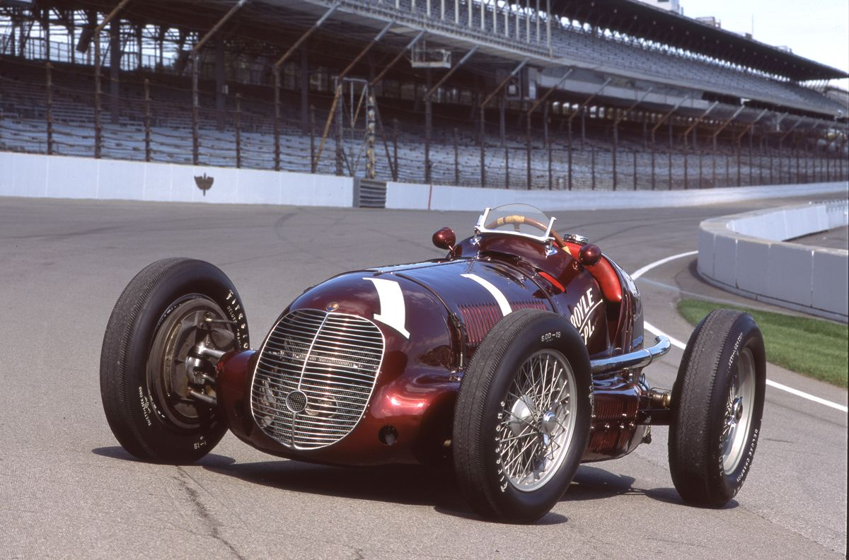 Maserati 8CTF Indianapolis winner c John Lamm